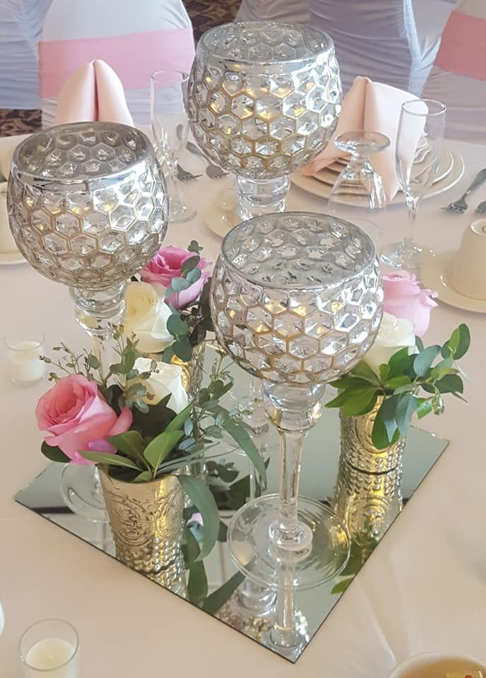 Mercury Glass Candles