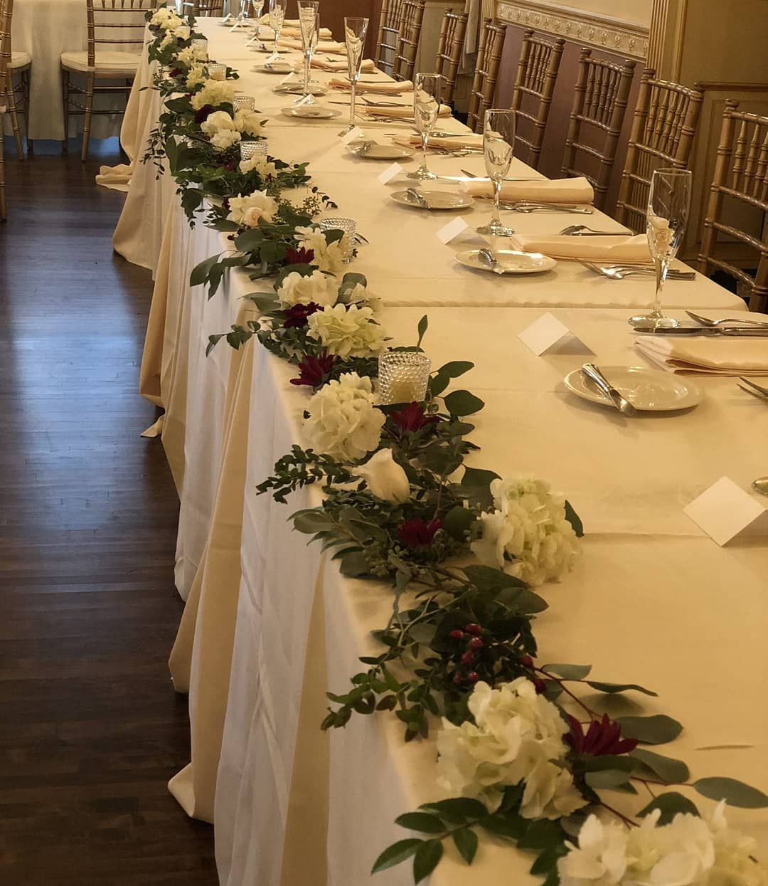Bridal Party Table, Colony Club