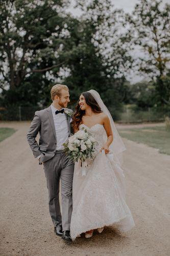 Bride and Groom, Ellis Barn