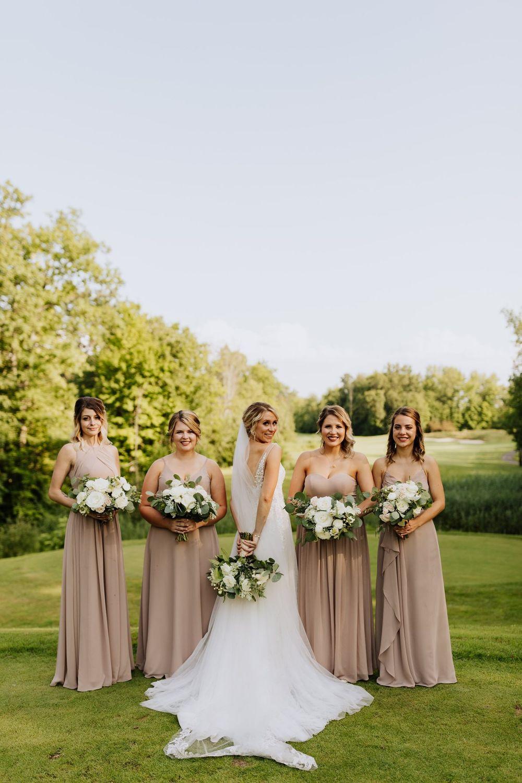 Bride and Bridesmaids, Twin Lakes