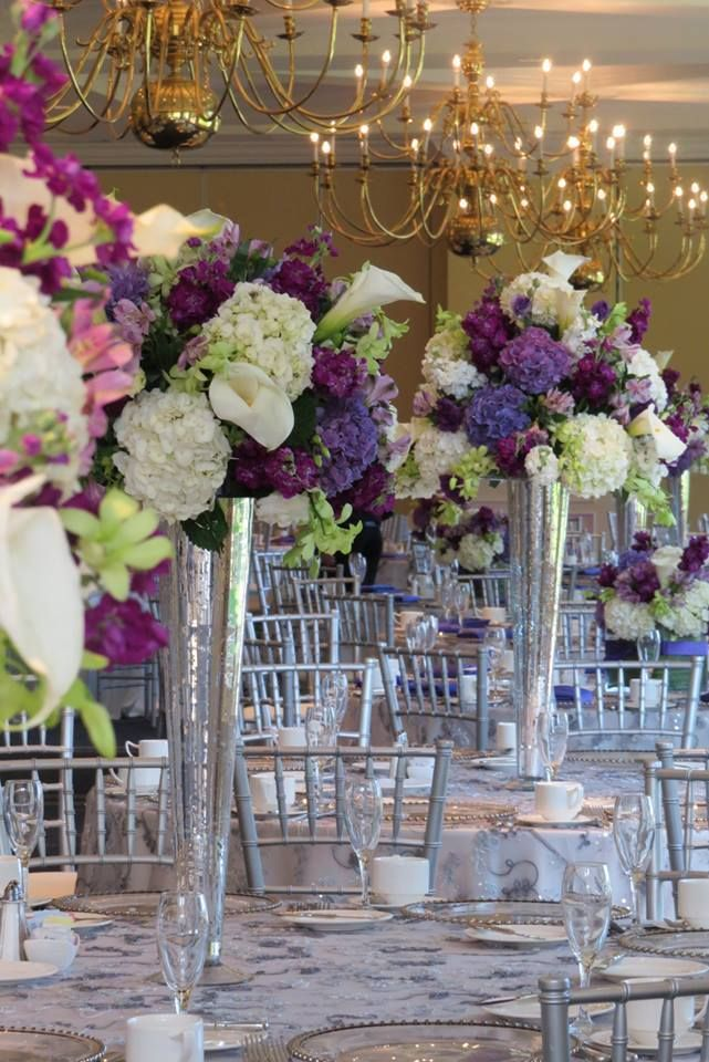 Tall Centerpieces, Cherry Creek