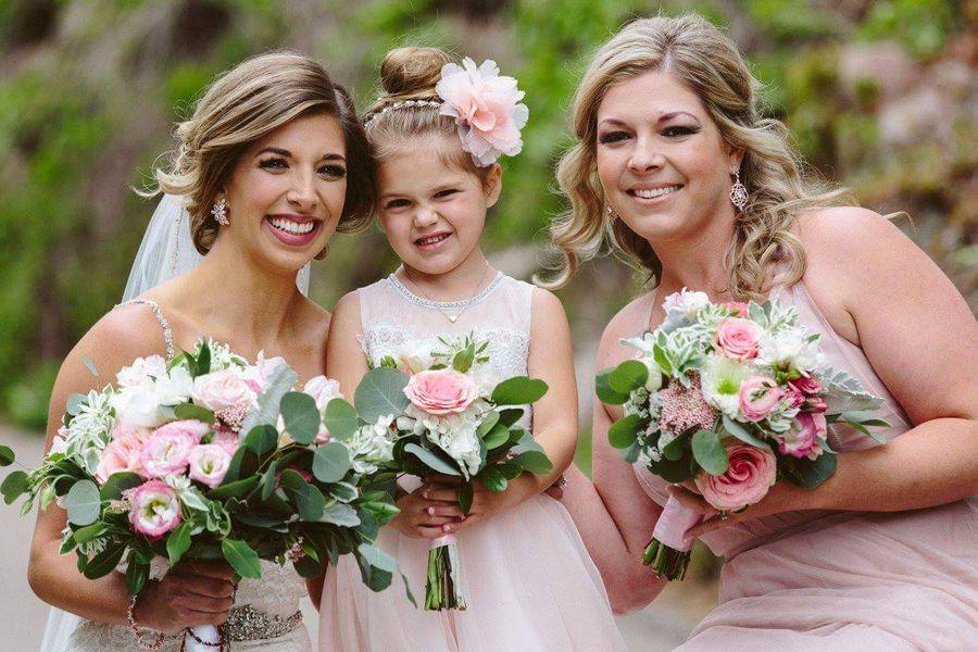 Rustic Bridesmaid Bouquets