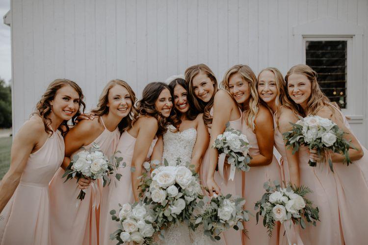 Bridal Party, Ellis Barn