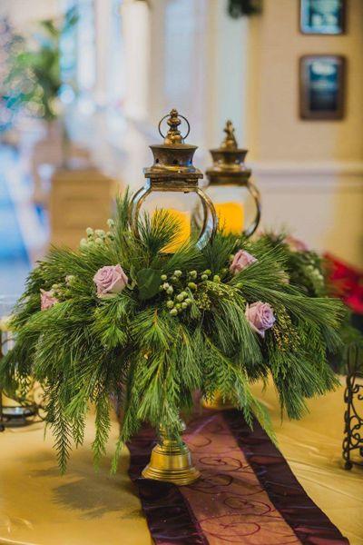 Wedding Reception Entrance Flowers