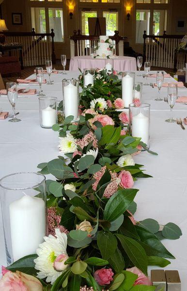 Captain's Table Flower Garland