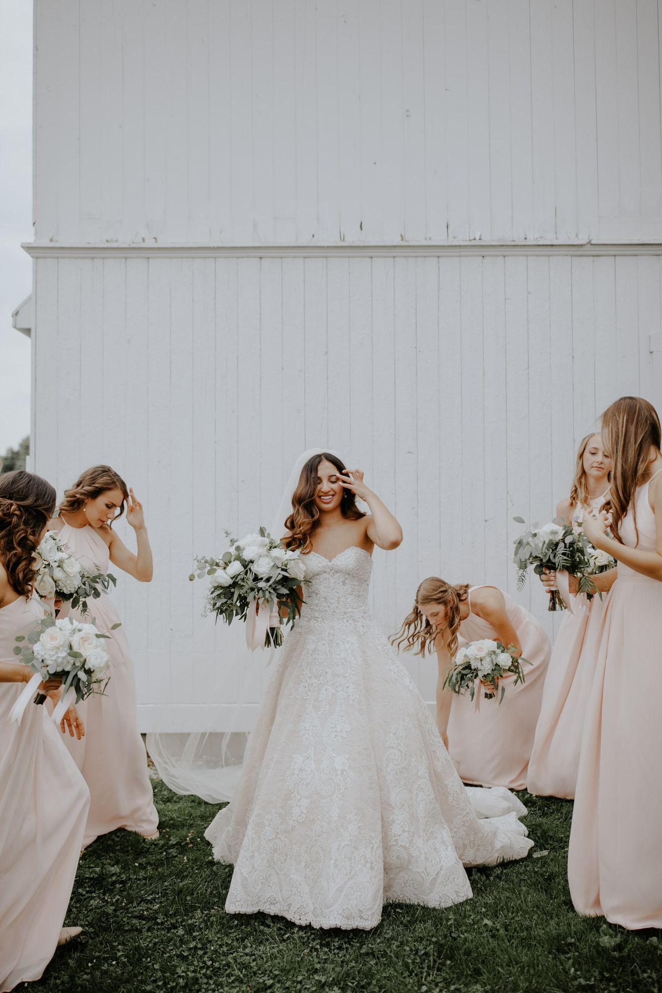 Bridal Party, Ellis Barn