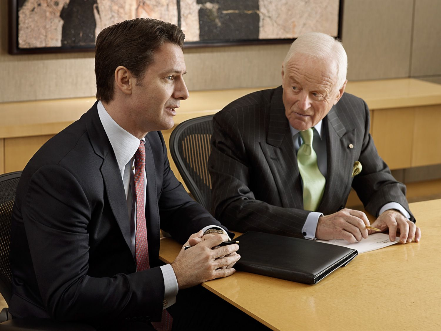 Barrick Gold - Aaron Reagent, President & CEO, and Peter Munk, Founder & Chairman of the Board