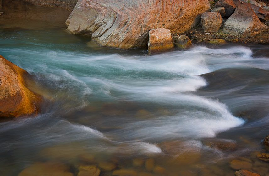 Moving Water 3, Zion NP