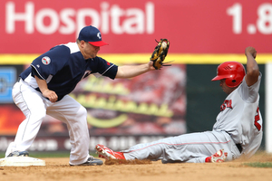 Play at 2nd Base
