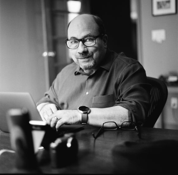 Craig Newmark, Craigslist Founder 2015In his home office in San Francisco, with his camera close at hand ready to document any variety of birds which fly by his balcony-a favorite pastime of his.