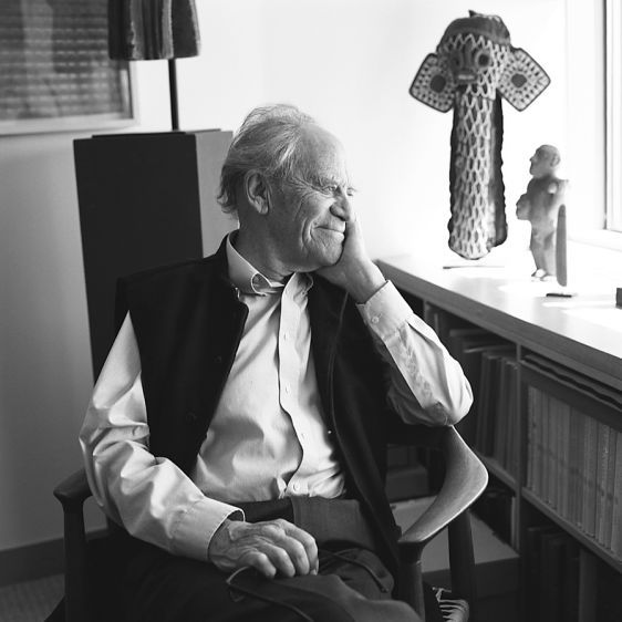 Torsten Wiesel, Nobel Laurette2016Overlooking the East River from his office at Rockefeller University, in Manhattan, where he is President Emeritus.