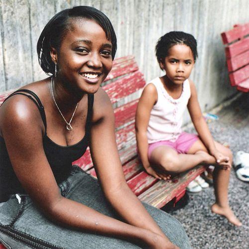 'Ndapewa' (which means gift), Letisia Sakaria