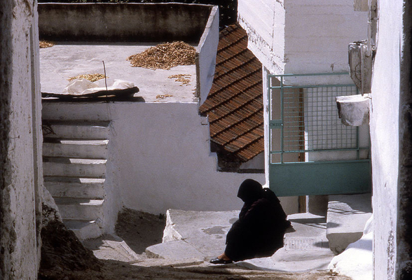 Street Scene,  Splii, Crete