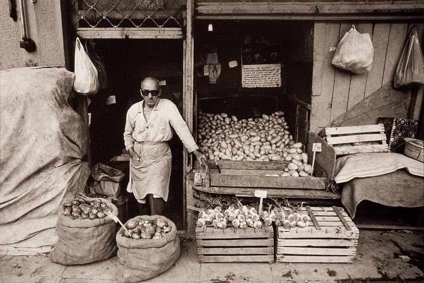 Root Vegetable Store, Athens