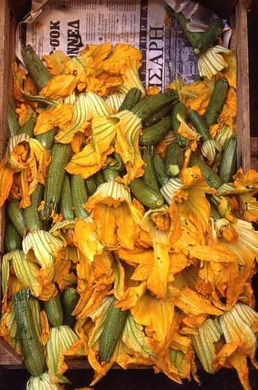 Zucchini in Market