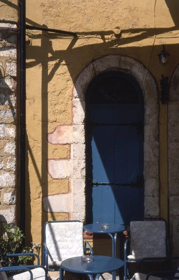Kafenion Door, Nauplio, Argolid, Peloponnesse