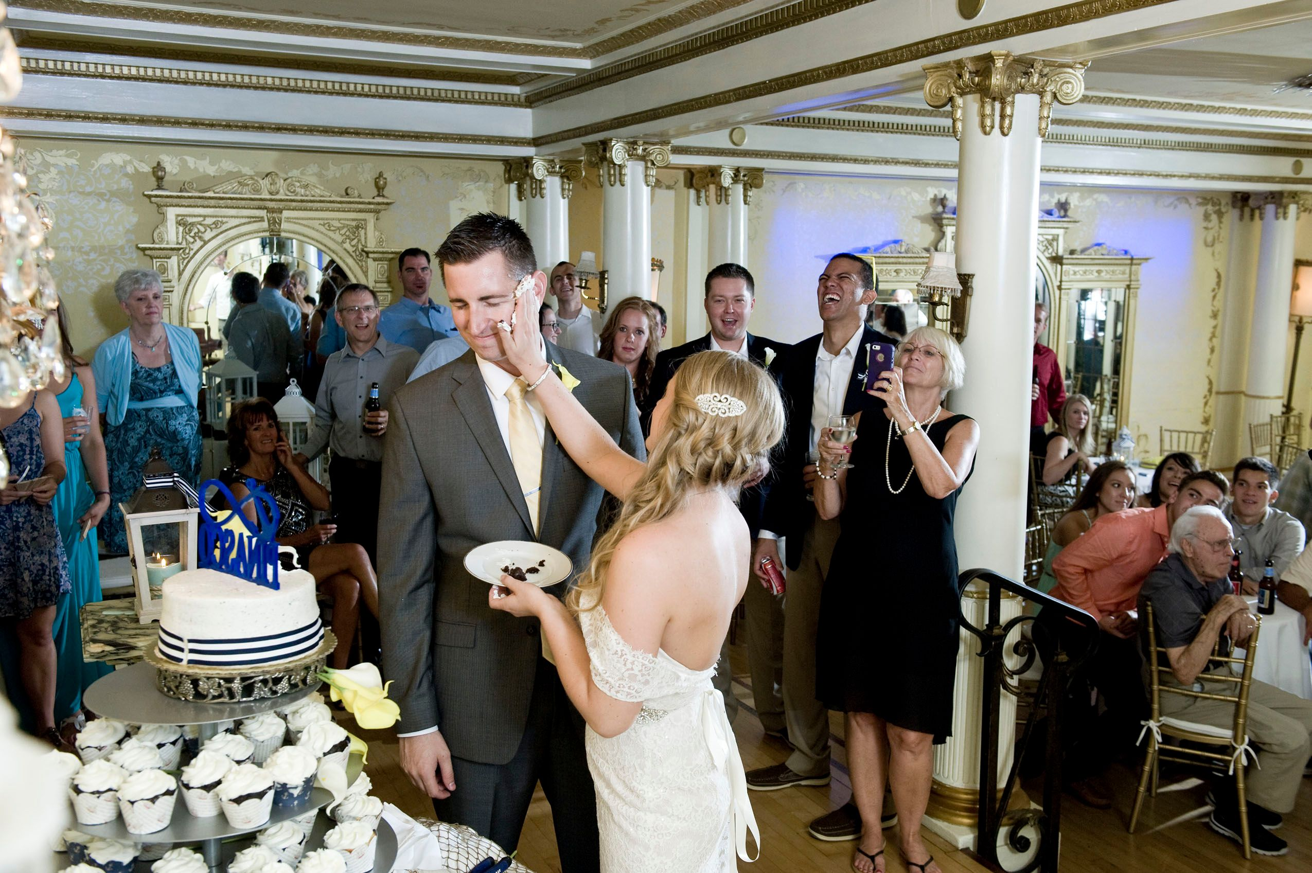 Grand Island Mansion Wedding Reception - 117