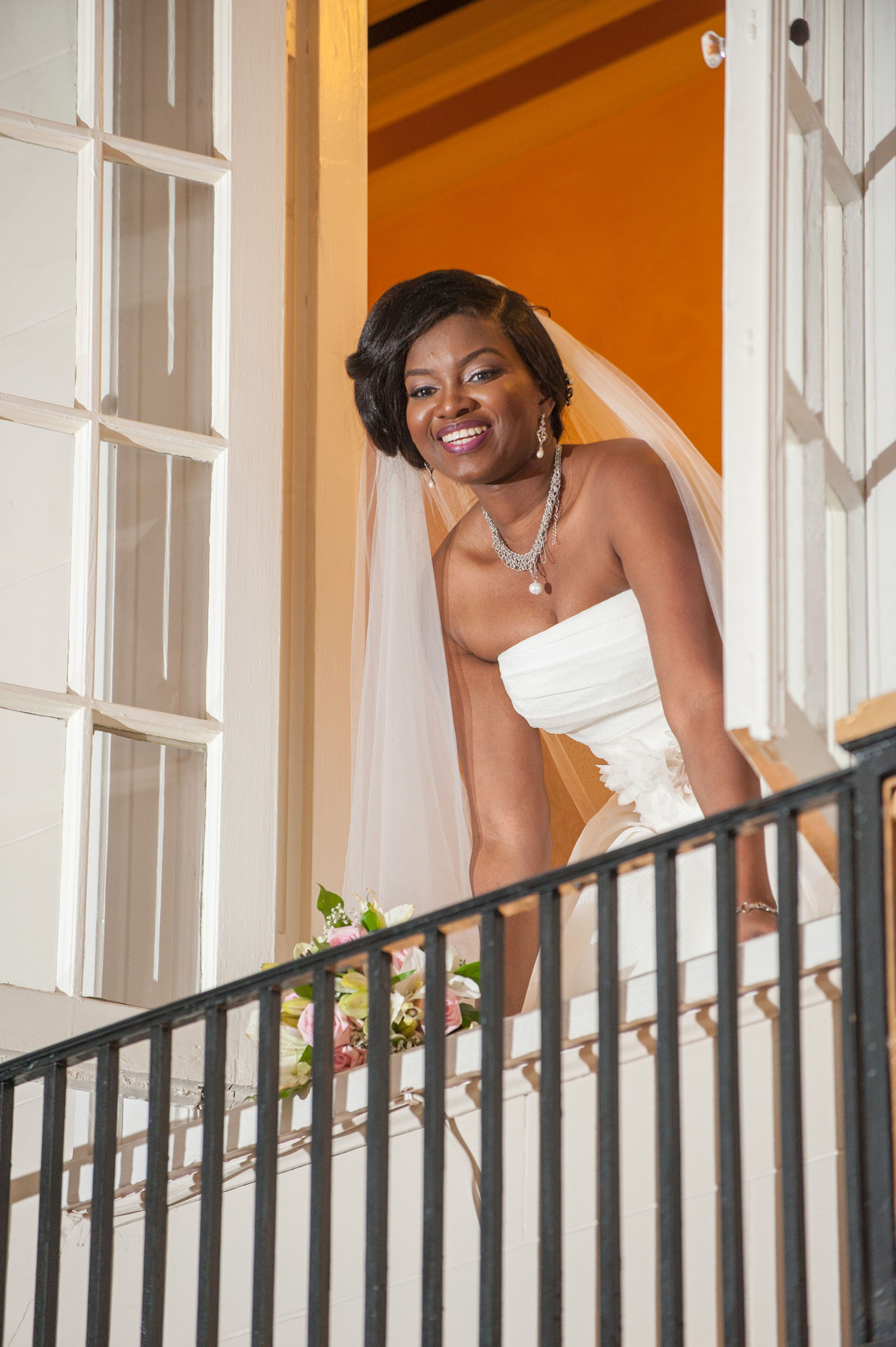 Grand Island Mansion Bride