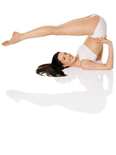 Yoga on White