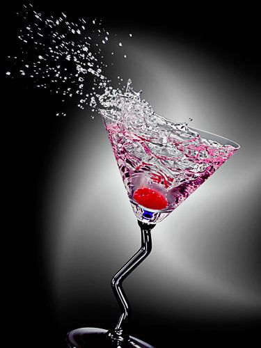 Red Raspberry Martini