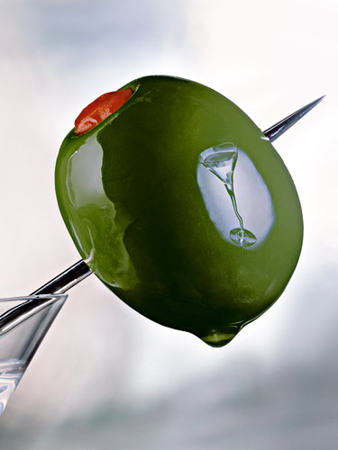 Olive with Martini