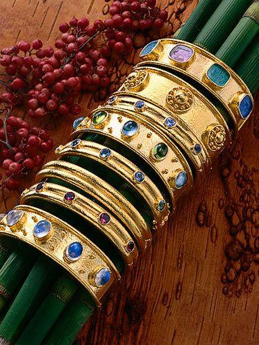 Bracelets on Reeds