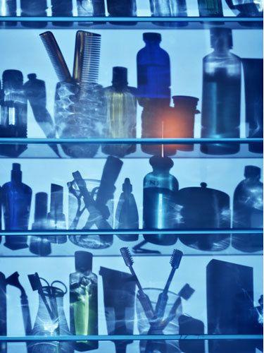 Medicine Cabinet Shadows
