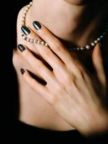 Basic Black and Pearls