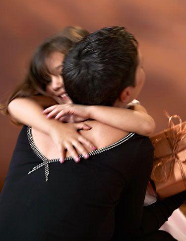 Mother/Daughter Hug