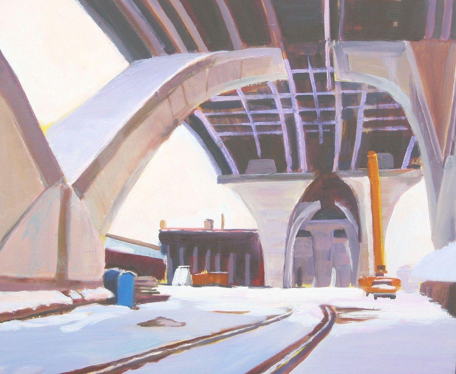 WILSON BRIDGE - SNOW III