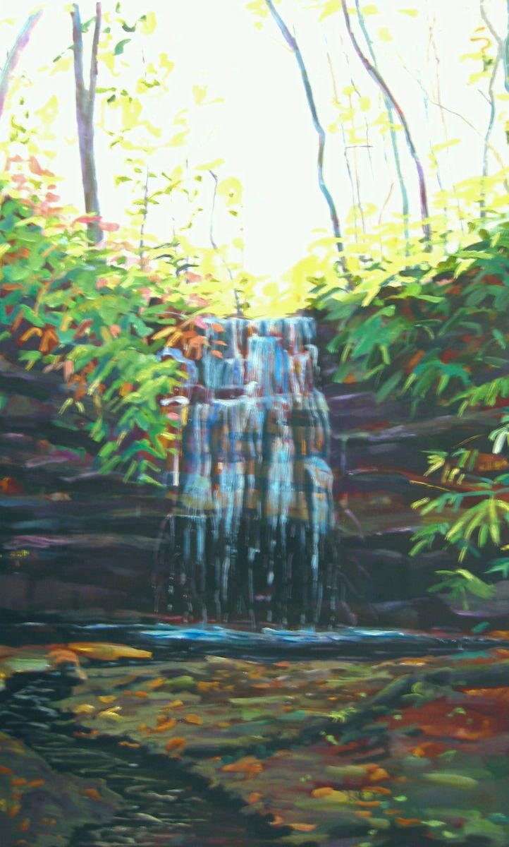 WATERFALL - THE RAVINE I