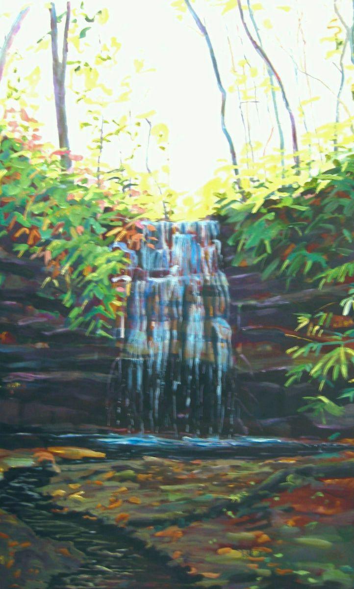 WATERFALL - THE RAVINE I