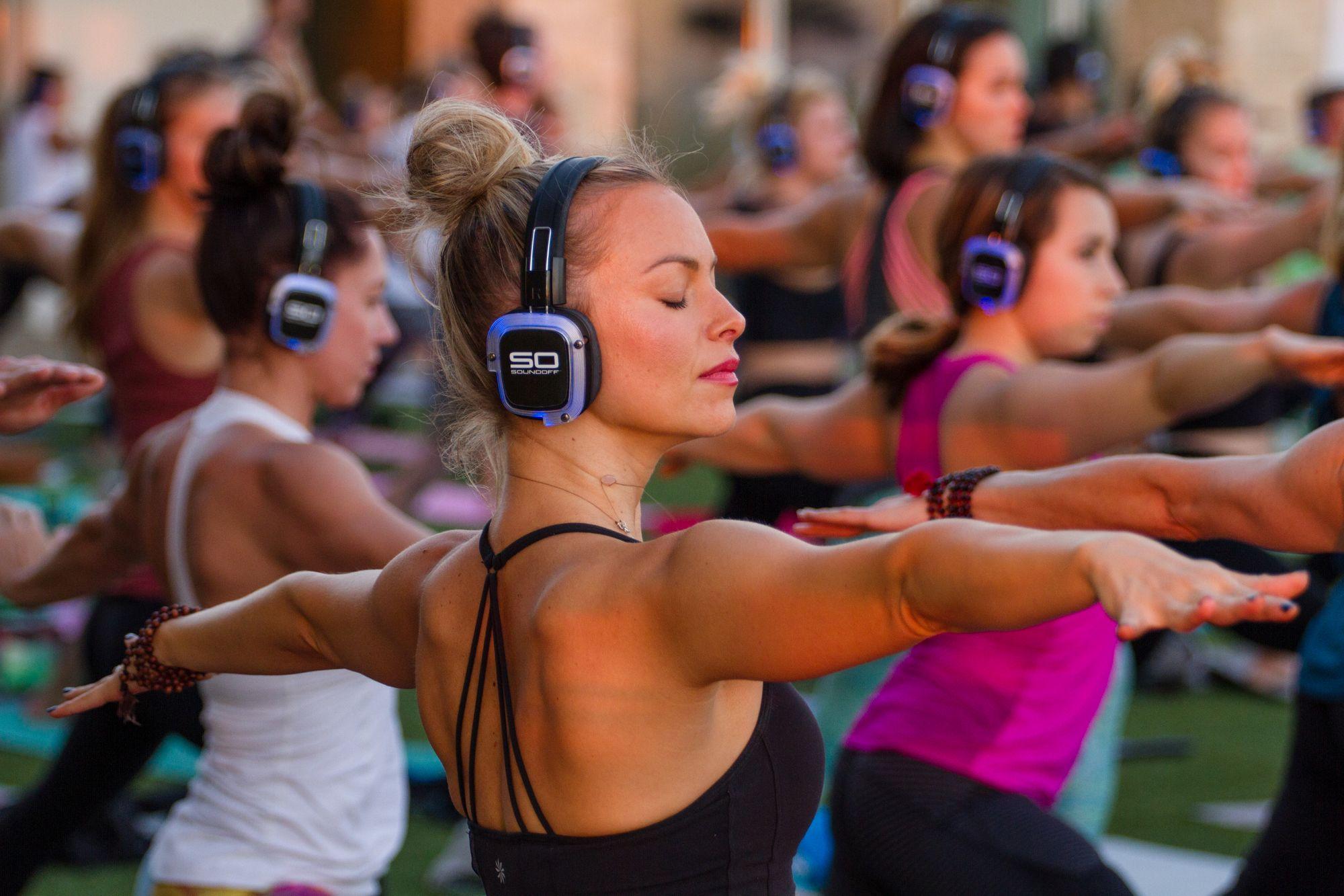 Bacara Resort Yoga Social