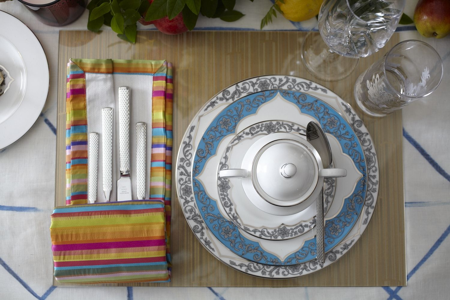 Spring Break Table Escape by Michael Tavano for JAB Anstoetz and Lenox