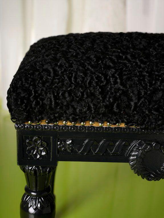 Curly Lamb Bench by Michael Tavano