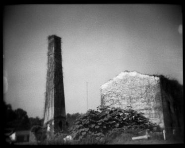 Civil War Ruin, Acworth, GA, 1993.