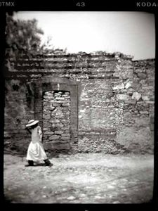 Woman in Pozos, Mexico