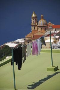 Laundry and Basilca, Praiano, Italy