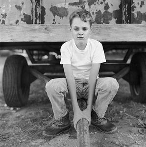Boy at Cotton Mill, Rutledge, GA