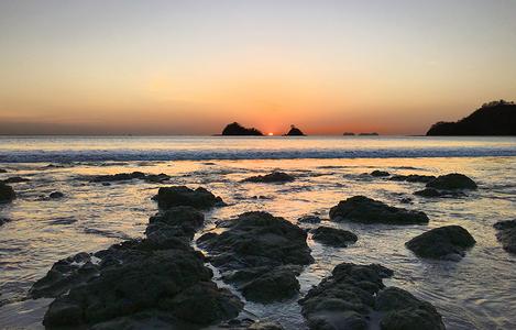 Sunset, Guanacaste, Pacific Ocean