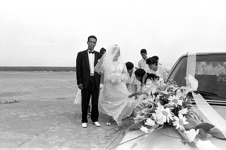 Gypsy Wedding, Saintes Marie de la Mer, France, 1989.