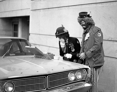 Barnum and Bailey Clowns, Atlanta,1977.