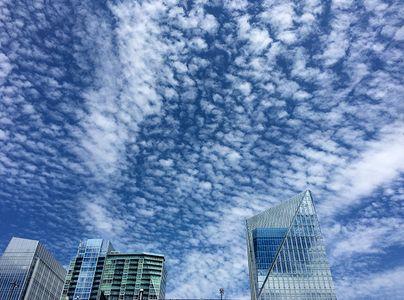 Buckhead in the clouds, Atlanta.