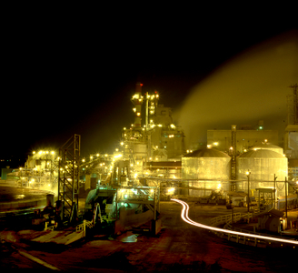 Union Camp Paper Mill, Savannah, 1994.