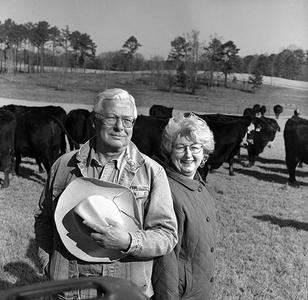Cattle Farming Couple, Georgia