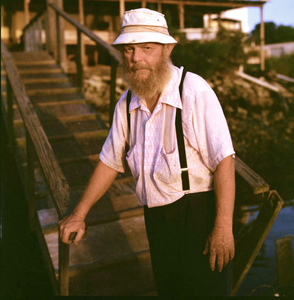Fisherman, Brunswick, Georgia, 1989.