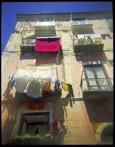Amalfi Laundry, Holga Series, Italy.