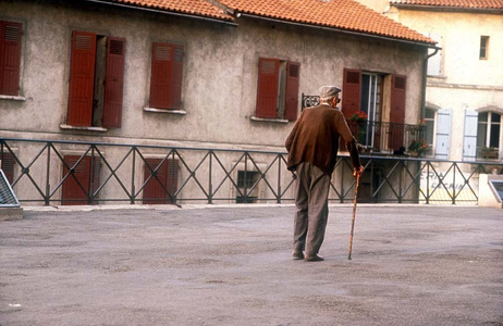 Afternoon Stroll, Arles, France,.
