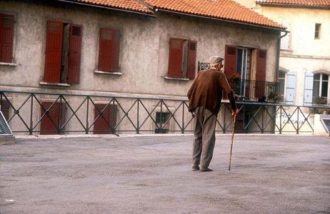 Afternoon Stroll, Arles, France,.