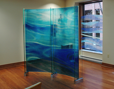 Mercy Hospital, Glass Art